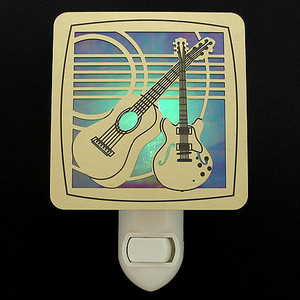 Guitar Night Light