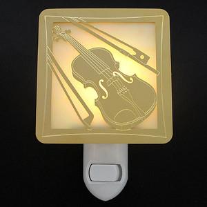 Violin Night Light