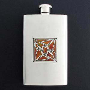 Vortex Hip Flask 4 Oz Stainless Steel