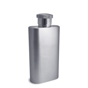 Engraved 2 Oz Mirror Finish Pocket Flasks