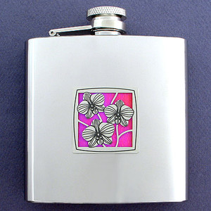 Unique 6 Oz Orchid Flasks