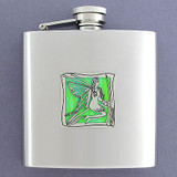 Flying Fairies 6 Oz Drinking Flasks