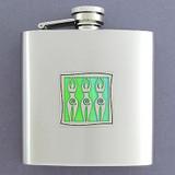 Three Venus Goddess 6 Oz Drinking Flasks