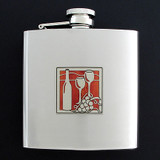 Wine 6 Oz Drinking Flasks
