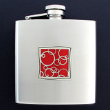 Popping Bubble 6 Oz Drinking Flasks