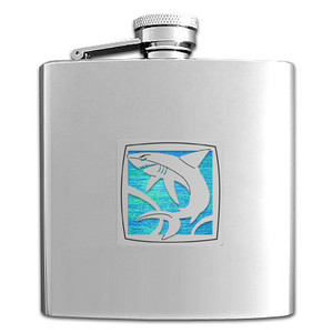 Shark Drinking Flasks 6 Oz