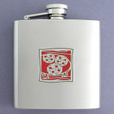 Cookie Drinking Flask 6 Oz.