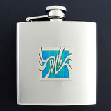 Art Nouveau 6 Oz Drinking Flasks