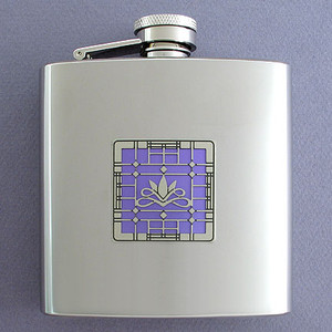 Victorian Inspired Designer 6 Oz Flasks