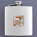 Beer Lover 6 Oz Drinking Flasks