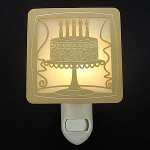 Birthday Cake Night Light
