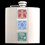 Mixed Blessings Christmakwanzakah 6 Oz. Flasks