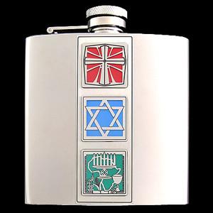 Mixed Blessings Christmakwanzakah 6 Oz. Flasks