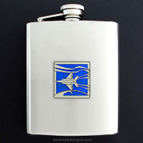 F-15 Jet Fighter Flasks in 8 Oz. Stainless Steel