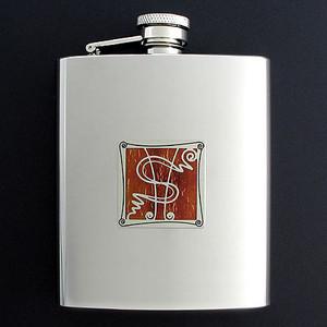 Money Flasks in 8 Oz. Stainless Steel