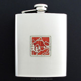 Mountain Flasks 8 Oz. Stainless Steel