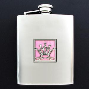 Pink Princess 8 Ounce Flask