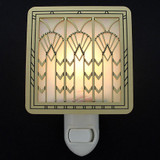Art Deco Fans Night Light