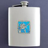 Gardening Flasks 8 Oz. Stainless Steel