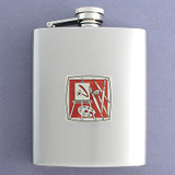 Artist Flask 8 Oz. Stainless Steel