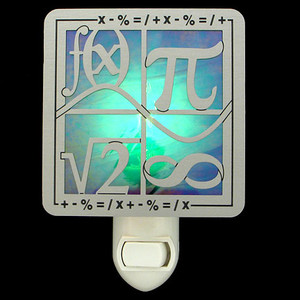 Math Symbols Nightlight