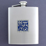 Math Flasks 8 Oz. Stainless Steel
