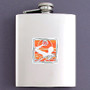 Water Polo Flask 8 Oz. Stainless Steel