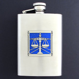 Lawyer Flask 3 Oz