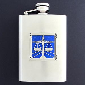 Lawyer Flask 3 Oz