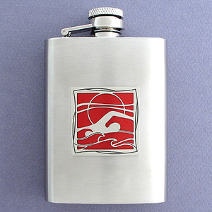 Swimmer Flasks 3 Oz