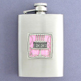 Birthday Cake 3 Oz. Stainless Steel Liquor Flasks