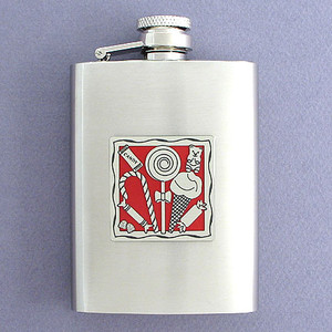 Candy 3 Oz. Stainless Steel Drinking Flasks