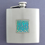 Rain Personalized 6 Oz Liquor Flasks
