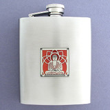 Buddhist Flask 8 Oz. Stainless Steel