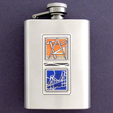 Bridge Engineer 3 Oz Stainless Steel Flasks