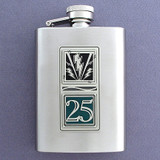 25th Infantry Division 3 Oz Stainless Steel Flasks