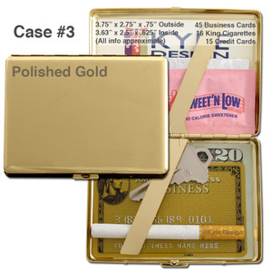 Deep Wallet Cigarette Case - Small Hard Double-sided