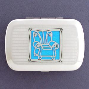 Sofa Chair Handy Metal Box