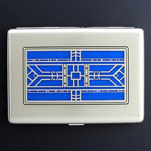 Designer Craftsman Large Cigarette Case or Credit Card Wallet
