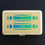 Milano Modern Large Cigarette Case or Credit Card Wallet
