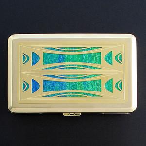 Milano Modern Large Cigarette Case or Credit Card Wallet