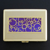 Bubbles Credit Card Wallet or Cigarette Case