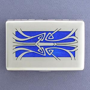 Art Nouveau Wallet Cigarette Case