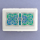 Irish Celtic Credit Card Wallets or Cigarette Cases
