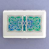 Irish Celtic Credit Card Wallets or Cigarette Cases