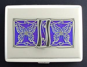 Purple Butterfly Case - Metal