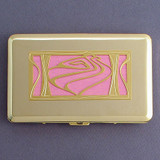 Contemporary Seashell Decorative Wallet for Credit Cards
