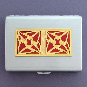 Modern Vortex Cigarette Cases or Credit Card Wallets