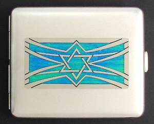 Jewish Star Metal Case