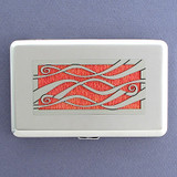 Decorative Ribbons Credit Card Case or Cigarette Case